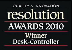 Resolution Awards 2010: Winner Desk-Controller