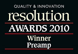 Resolution Awards 2010: Winner Preamp