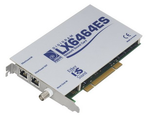 Digigram LX6464ES EtherSound PCI