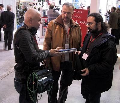 Испытание Schoeps CMIT 5U на выставке NATEXPO 2005