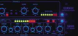 Приборы LA Audio в ультра-фиолете
